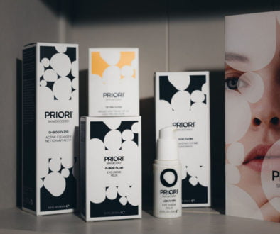 Priori products from Face Facts online shop