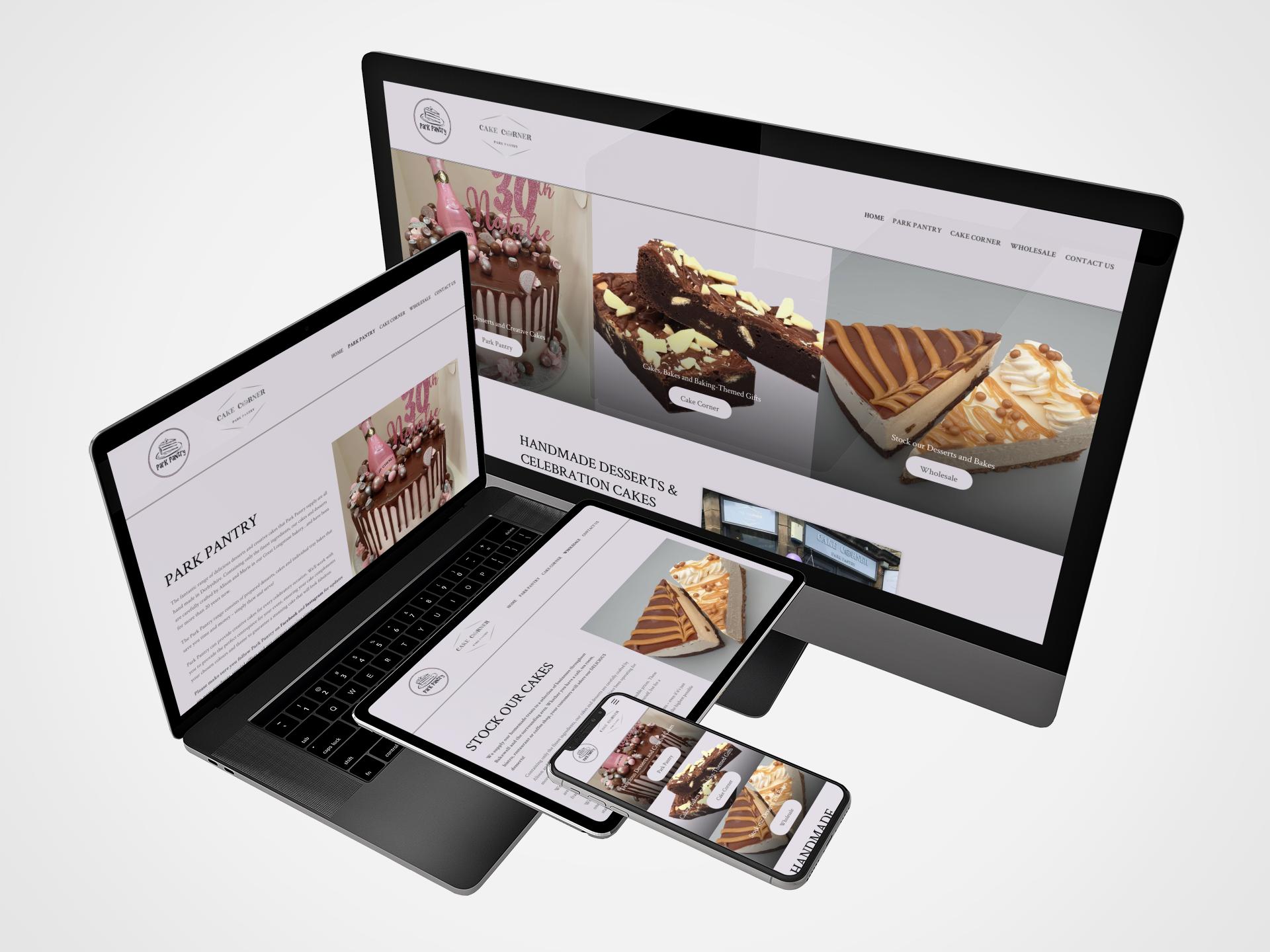 Park Pantry - Cake Corner Website