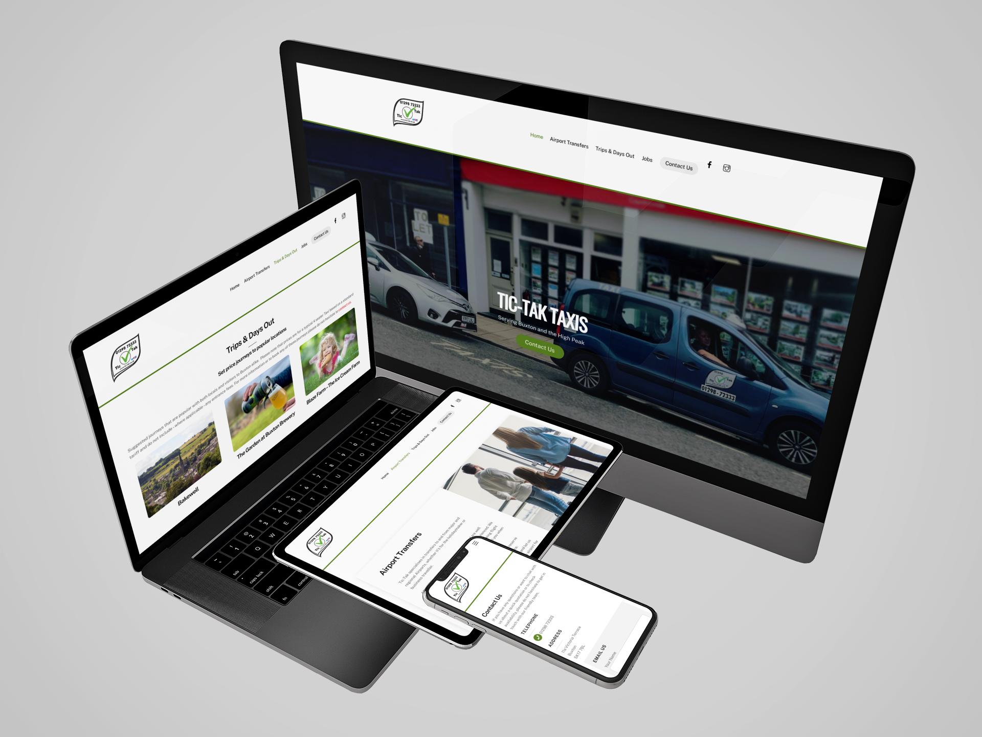 Tic-Tak Website